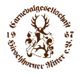 Carnevalgesellschaft Hirschhorner Ritter 1967 e.V. - Logo
